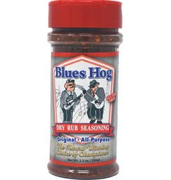 Blues Hog: Original Dry Rub Seasoning 5.5 oz. / 156g