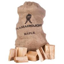 Kamado Joe Chunks - lämminsavupalikat Vaahtera (Maple) max. 4,5kg
